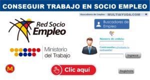 socio empleo