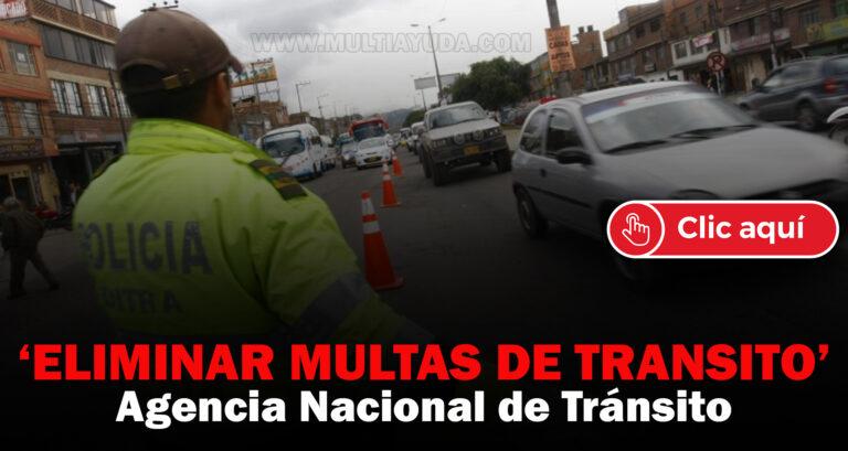 eliminar multas de tránsito